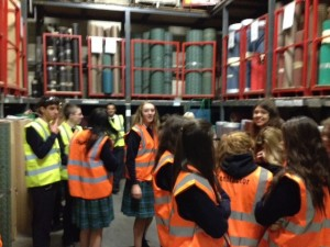 Transition Year Students from St Aidan's Comprehensive School, Cootehill visit CavMac