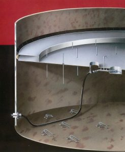 CavMac's Innovative Floating Roof Drain Hose Assembly System